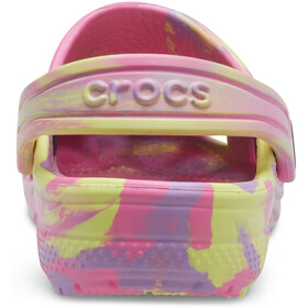 Crocs Classic Marbled Clogs Kids, pink lemonade/multi